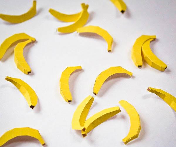 Бумажные бананы