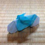 Мотоцикл в технике оригами