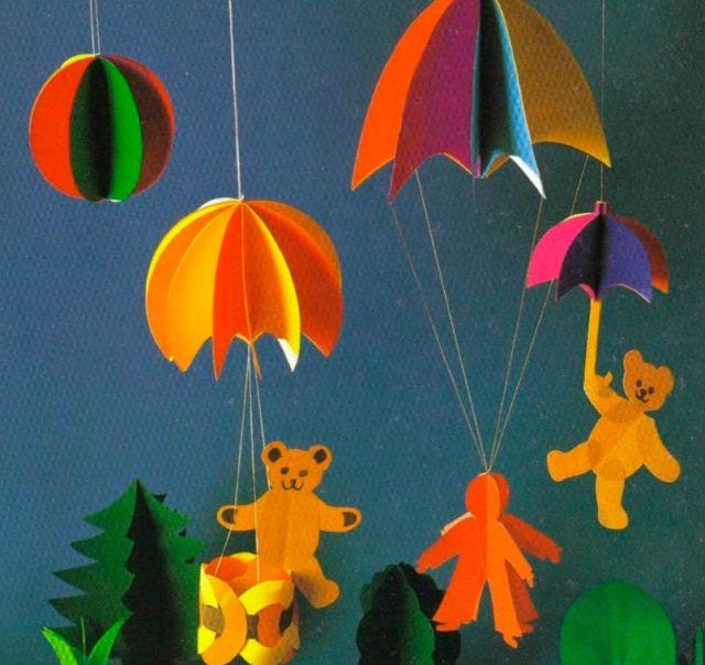 Бумажные парашюты