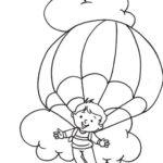 Шаблон парашюта