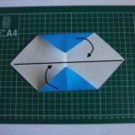 Создание цветка оригами