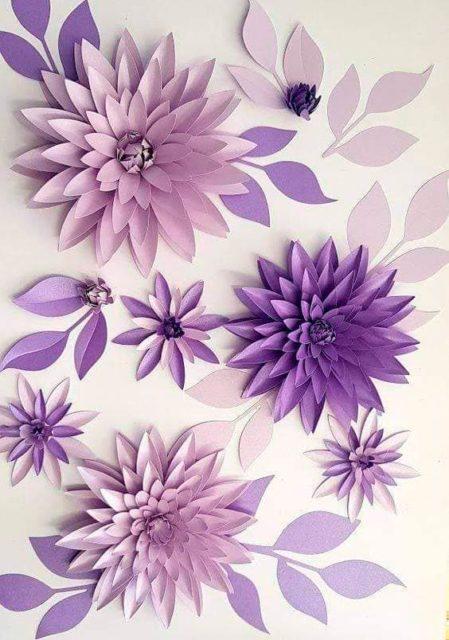 Аппликация цветов