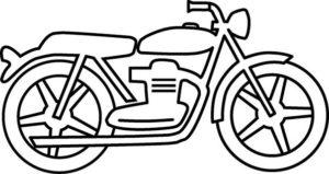 Шаблон мотоцикла