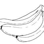 Шаблон бананов