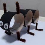 Объемный муравей из бумаги