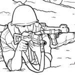 Шаблон военного
