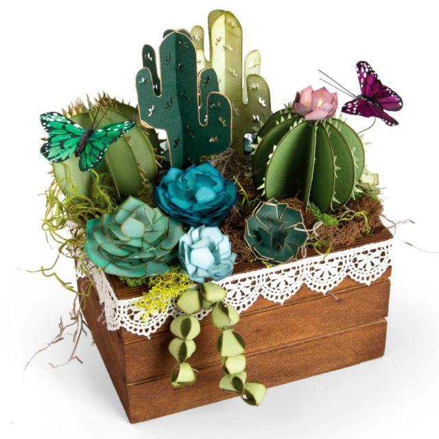 Поделки кактусов из бумаги