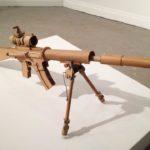 Снайперская винтовка из бумаги