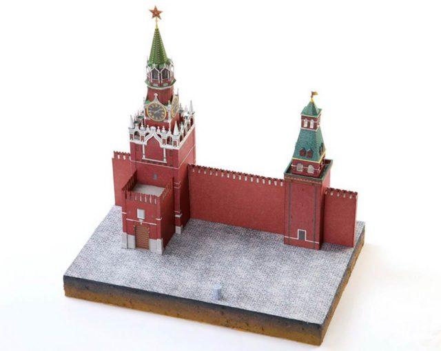 Макет Московского кремля