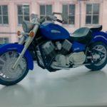 макет мотоцикла из бумаги