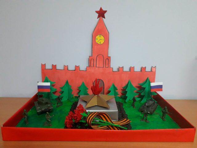 Макет красной площади