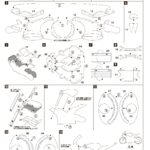 Развертка мотоцикла для вырезания и склейки