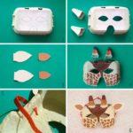 Создание маски из коробки от яиц