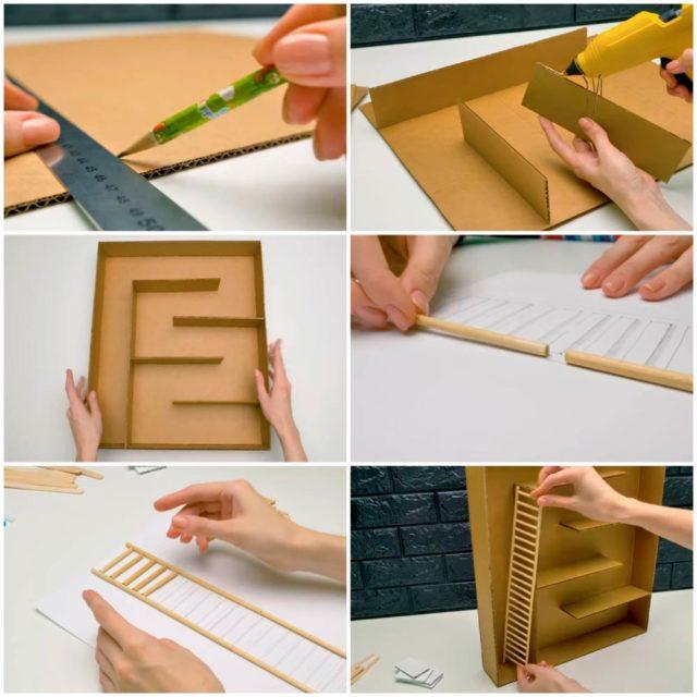 Создание лабиринта из картона