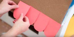 Создание домика из коробки