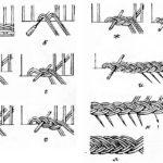 Схема плетения бумажными трубочками