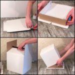 Делаем коробку для торта