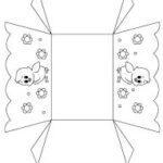 Схема, шаблон корзинки