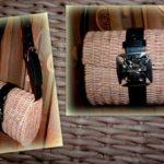 Плетеная сумка из бумаги