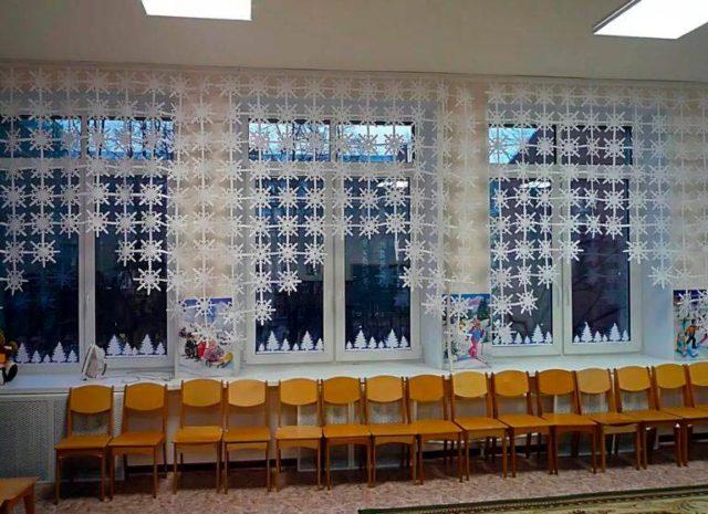 бумажные шторы на окна