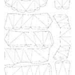 Развертка свиньи паперкрафт