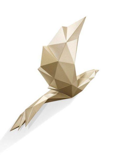 Птица паперкрафт