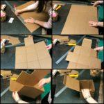 Сборка картонной коробки