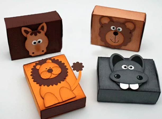 Животные на спичечных коробках