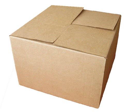 Сборка картонной коробки без скотча