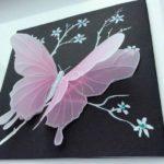 Бабочка из кальки