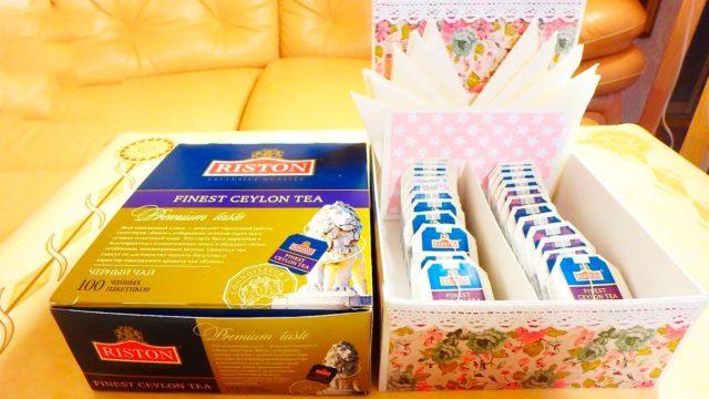 Что сделать из чайной коробки