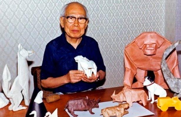 Оригамист А. Ёсидзава