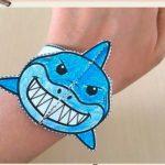 Браслет в виде акулы на руку