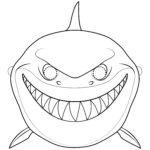 Шаблон акулы