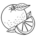 Шаблон апельсина