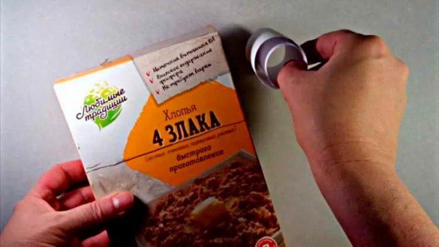 Как делать щелкунчика из коробки