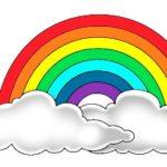 Шаблон радуги