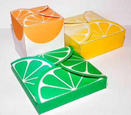 Цитрусовые коробочки