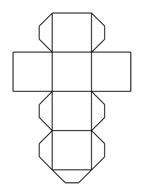 Развёртка кубика