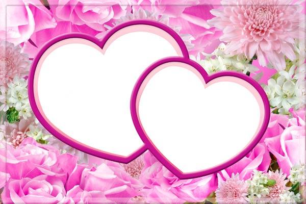 Шаблон сердец