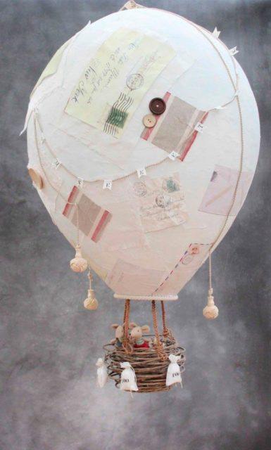 Воздушный шар из бумаги, игрушечный
