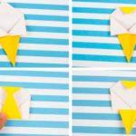Единорожек оригами