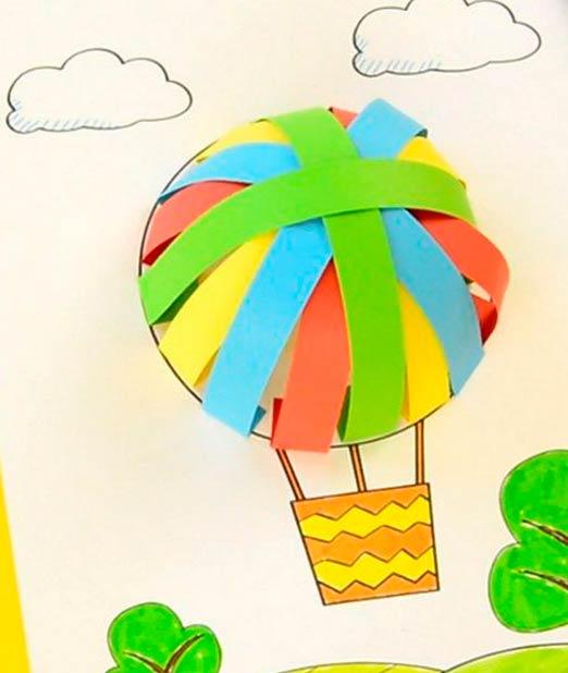 Аппликация воздушного шара