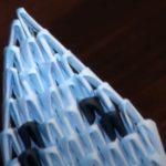 Кобра из модулей оригами