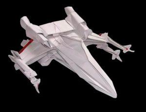 Истребитель оригами из звездных войн