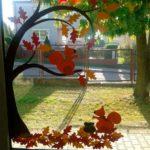 Осенняя тематика на окне