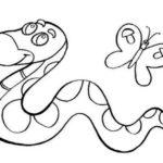 Шаблон змеи