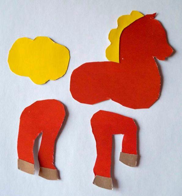 Создание лошадки-дергунчика