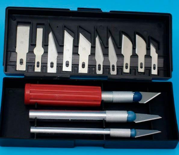 Нож для макетов, по бумаге