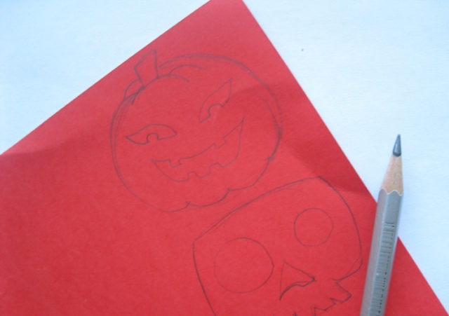 Поделки на хэллоуин из бумаги